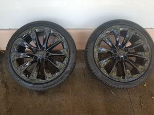 "Tesla Model X 20"" Rim Wheel Pair for Sale in Clearwater, FL"