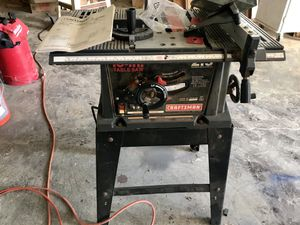 Craftsman Table Saw for Sale in Seattle, WA