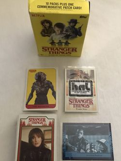 Netflix Stranger Things Season 1 Trading Cards Complete Set 71 Cards Great Condition for Sale in Reedley,  CA