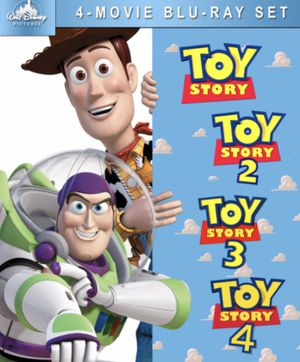 Toy story 1,2 ,3 and 4 all for $42 in Blu-ray Disney marvel Harry Potter the Star Wars movies 3D Bluray and dvd collectibles for Sale in Everett, WA