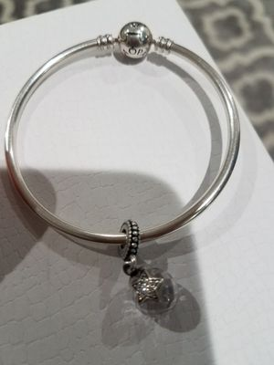 Pandora bracelet with 1 charm for Sale in Chicago, IL