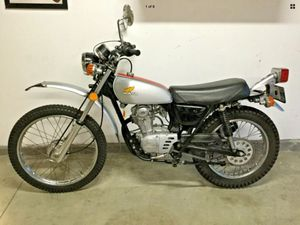1974 Honda XL125 Vintage Motorcycle - Dana Point for Sale in Dana Point, CA