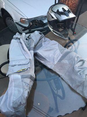 Dirt bike helmet, pants and goggles for Sale in Scottsdale, AZ