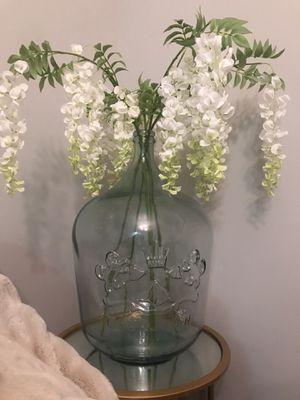 Vase & Faux Flowers for Sale in Lynnwood, WA