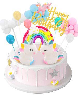Birthday Unicorn Cake Topper(new) for Sale in Chula Vista, CA