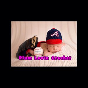 Atlanta Braves for boy outfit for Sale in Henderson, NV