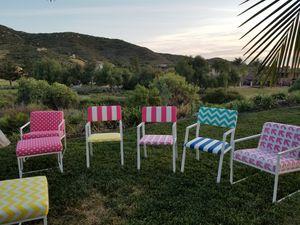 Patio Furniture Colorful for Sale in El Cajon, CA