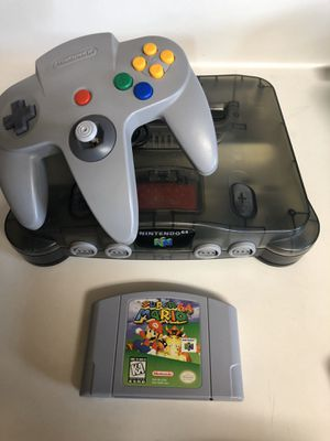 Smoke Grey with Super Mario 64 for Sale in Houston, TX
