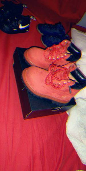 Toddler timbs 6C for Sale in Boston, MA