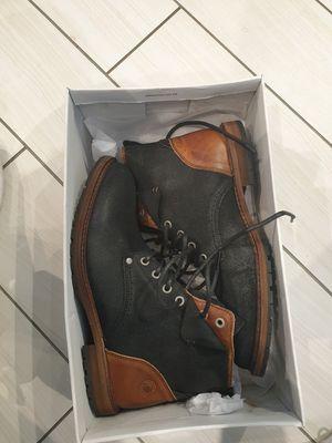 Size 7 Men's Steve Madden Leather Boots for Sale in Atlanta, GA