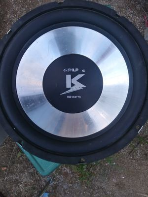 Alpine 12in subwoofer for Sale in WA, US