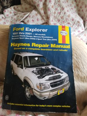 Ford Explorer Haynes 1991-2001 for Sale in Granite Falls, WA
