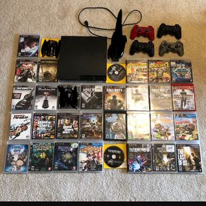 Sony ps3 bundle 100$ or negotiable shipping only for Sale in Detroit, MI