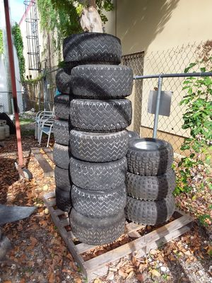 Large golf cart/ ATV wheels and tires for Sale in Hallandale Beach, FL