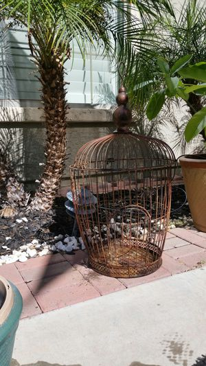 Rustic bird cage for Sale in Litchfield Park, AZ