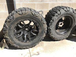 Jeep Wrangler wheels for Sale in Stockton, CA