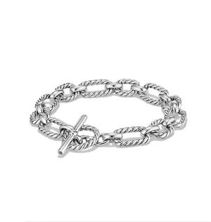 Silver chain link bracelet for Sale in Savannah, GA