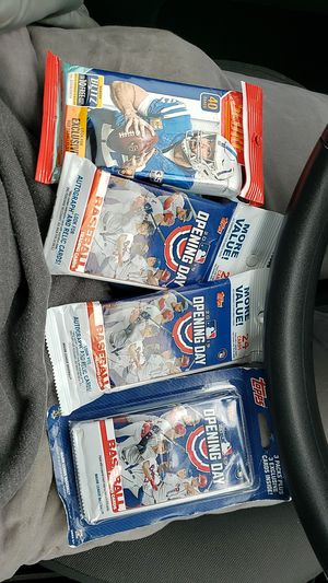 Baseball and football cards new for Sale in Columbus, OH
