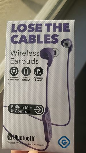 Wireless earbuds New for Sale in Sacramento, CA