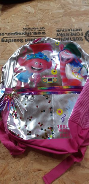 Troll colourful bling bling Backpack..new with tags for Sale in Tupelo, MS