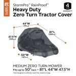 Heavy duty zero turn tractor cover for Sale in Kent, WA