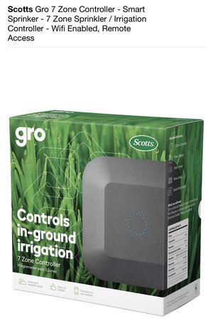 Scott gro 7 zone smart sprinkler for Sale in Houston, TX