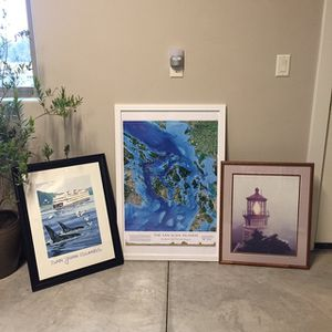 Collection Of San Juan Island Art for Sale in Terrebonne, OR