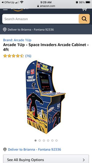 Arcade 1up Space Invaders Arcade Cabinet for Sale in Fontana, CA