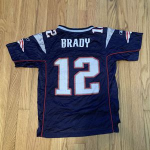 REEBOK NFL ON FIELD NEW ENGLAND PATRIOTS TOM BRADY YOUTH FOOTBALL JERSEY SZ M for Sale in Pelham, NH