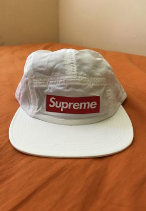 4cd99186c139c Supreme Raised Logo Patch Camp Cap- White for Sale in East Brunswick
