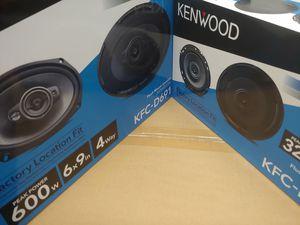 Car speakers :( total 2 pairs ) 1 pair KENWOOD 6.5 inch 2 way 320 watts & 1 pair 6×9 4 way 600 watts car speakers for Sale in Bell Gardens, CA