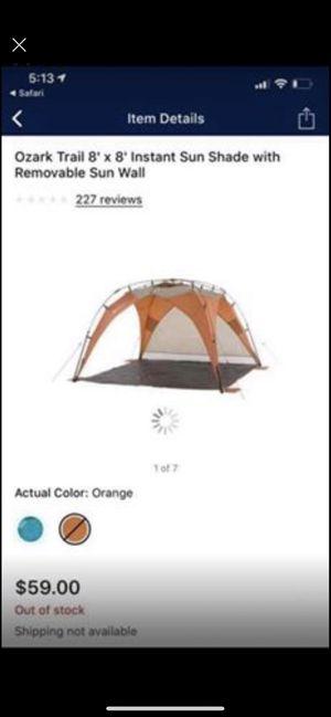 Ozark sunshade brand new for Sale in Cumming, GA