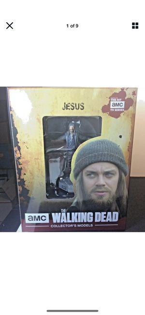 The walking dead Jesus mini statue collectible for Sale in Bell, CA
