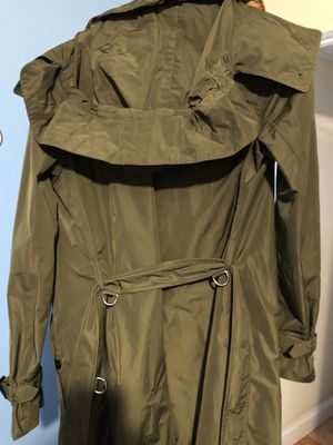 W size 8 Burberry trench coat for Sale in Chapel Hill, NC