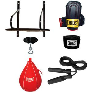 Punching bag Boxing Speed bag BRAND NEW Home Gym Workout FULL SET with Gloves amd Jump Rope Exercise Home Gym for Sale in Chula Vista, CA