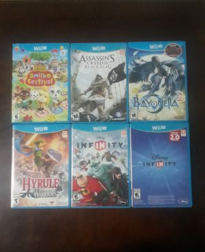 WII U Nintendo Games for Sale in Irving, TX