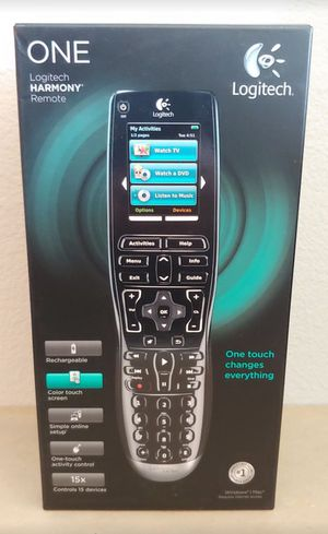 Logitech Harmony One Remote with Box for Sale in Dallas, TX