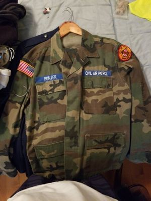 Civil Air Patrol camo jacket/ pants for Sale in Montgomery Village, MD