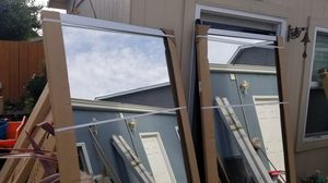 Sliding glass closet doors 36 x 80 each door for Sale in Martinez, CA