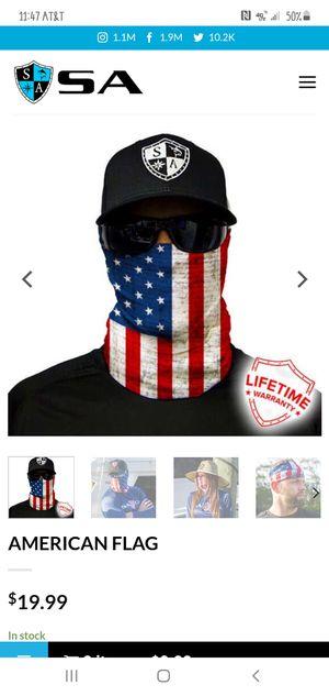 American Flag face shield for Sale in San Antonio, TX
