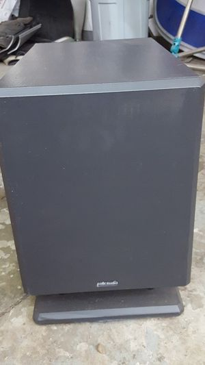 Polk Audio psw110 subwoofer for Sale in Birmingham, MI