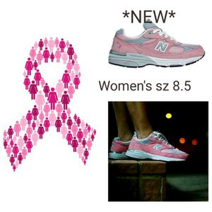 New balance pink ribbon running shoes for Sale in Cambridge, MA