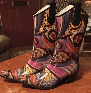 """Nomad """"Yippy"""" Rain Boots: Size 8*Like New* for Sale in Wellington, KS"""