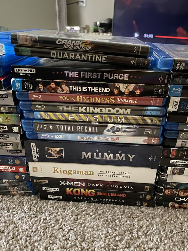 Blu-Ray & DVD Movies