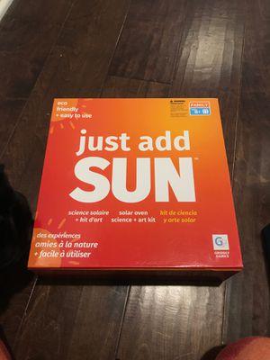 Just add sun game kid activity for Sale in Camarillo, CA
