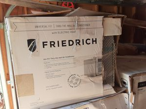 Friedrich thru wall air conditioner with electric heat for Sale in Landisburg, PA