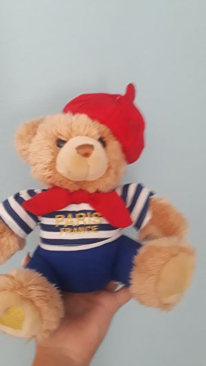 Teddy bear from Paris for Sale in Dover, FL
