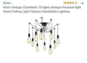 10 Light Chandelier NEW for Sale in Tampa, FL