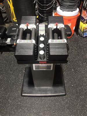 Powerblock Elite 90 Dumbbells with Stand for Sale in La Mesa, CA