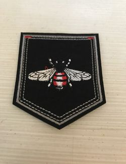 Big Bee Black Iron On Patch for Sale in Raleigh,  NC